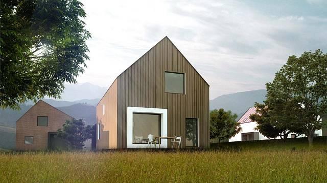 Vítězný návrh domu je od dvojice architektů Ing. arch. Rastislav Straňák, Ing. arch. Anita Stanková