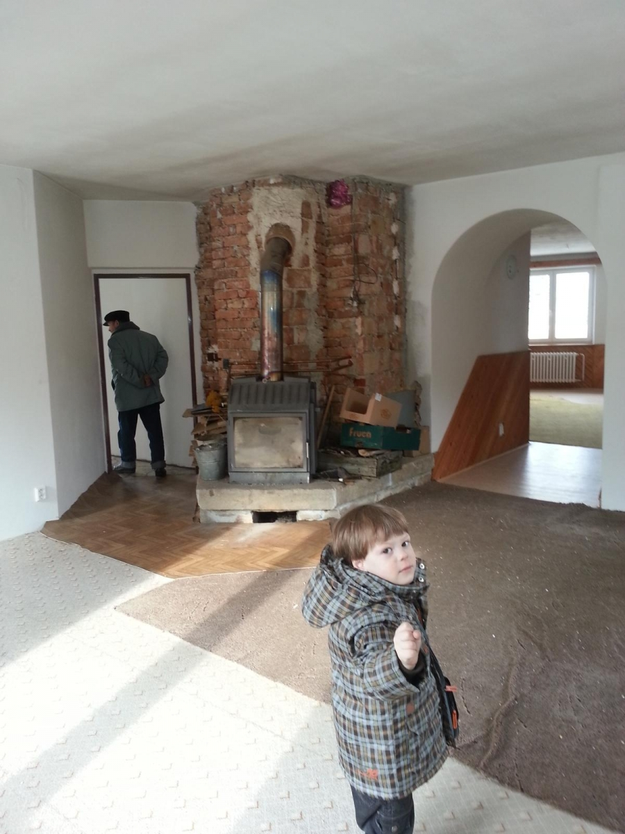 Rekonstrukce domu topení