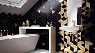 Geometrické obklady / Zdroj: Eden koupelny
