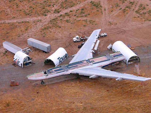 Vrak Boeingu 747 se proměnil v luxusní dům
