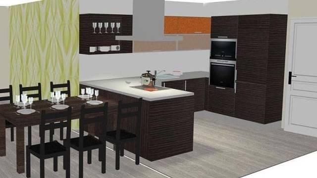 Návrhy kuchyně spojené s obývákem