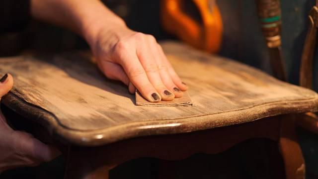 Proměna dřevěného nábytku