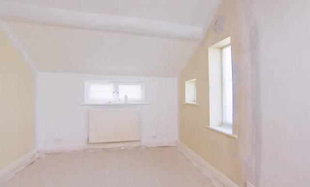 Takhle pokoj vypadal předtím...