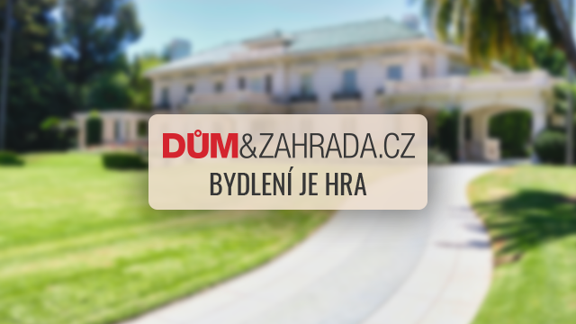 Titulka časopisu Dům a zahrada 3/2012