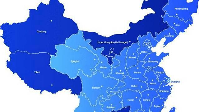 Nové město bude stát na západě čínského území v provincii Gansu