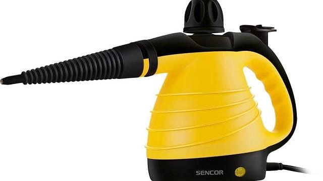 Ruční parní čistič Sencor SSC 3001YL