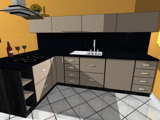 Kuchyně paní Zdeny