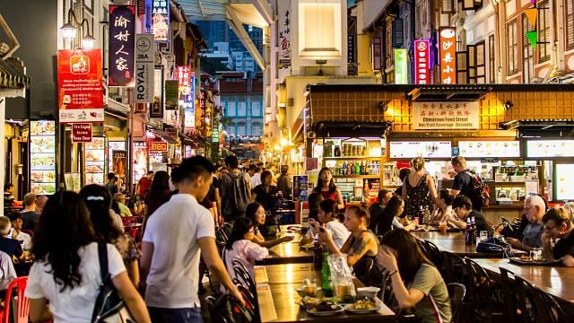 Chinatown v Singapuru