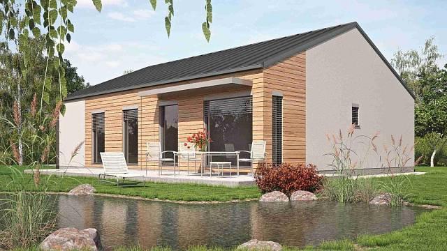 Moderní design v pojetí bungalovu Linea od Haas Fertigbau