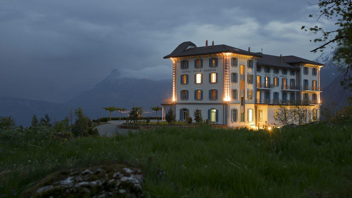 Hotel Villa Honegg en ce qui concerne dovolená v ráji: villa honegg | dům a zahrada - bydlení je hra