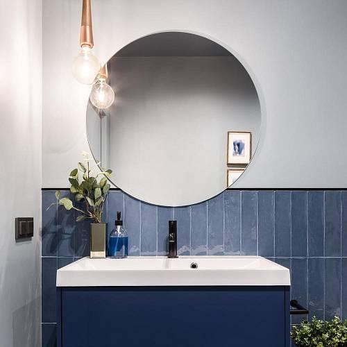 Modrá koupelna