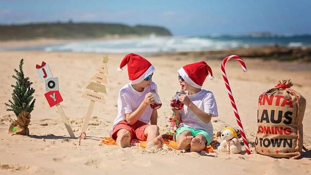 Vánoce v teplých krajích