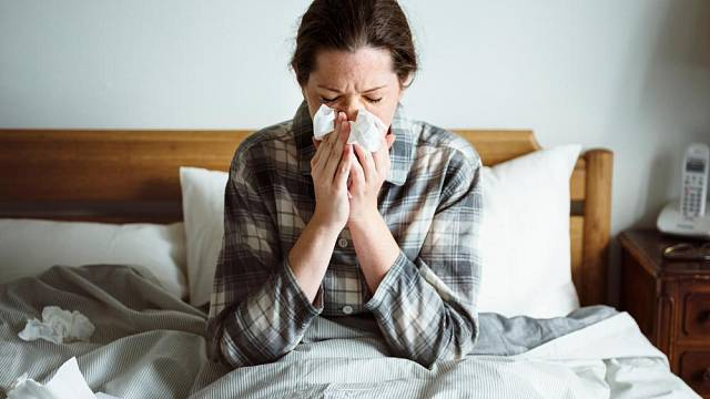 Alergik v ložnici