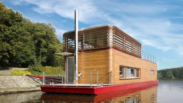Thesayboat - nový hausbót na Vltavě 9