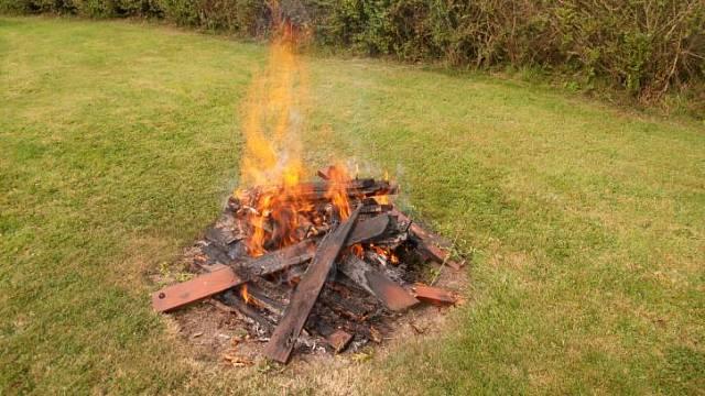 Podzimní požáry