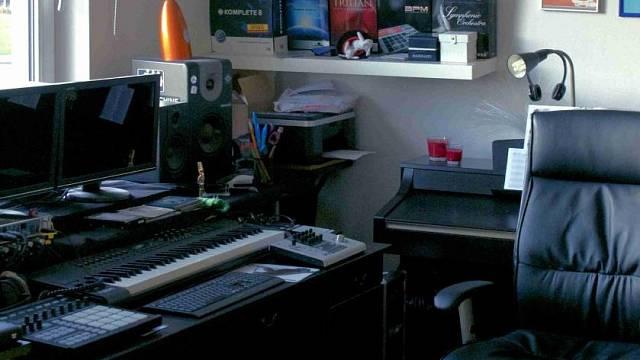Studio Radoslava Bangy v bytě