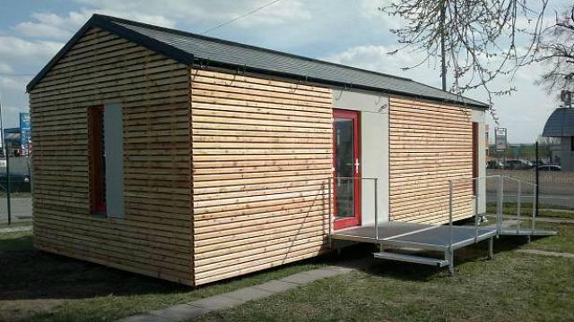 Dispozice: 2+kk, cena stavby: od 660.000 Kč bez DPH, dodavatel: Centrum mobilních domů
