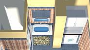 Varianta 2 - koupelna