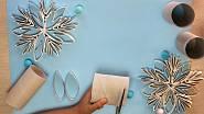 Vánoční ozdoby z papíru
