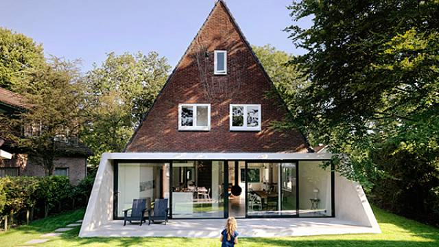 Přístavba domku v Holandsku 2