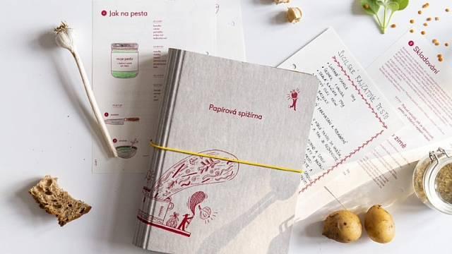 Papírová spižírna, Papelote ve spolupráci se spolkem Zachraň jídlo