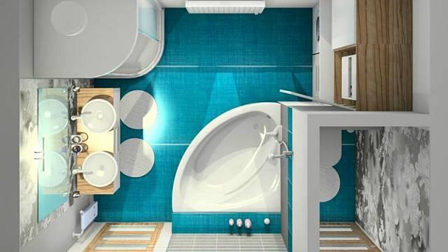 Koupelna a samostatné WC
