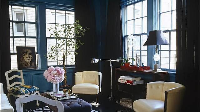 Chyby v interiéru: Černo-modrá dekadence