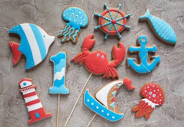 Přizvěte si na pomoc děti a upečte s nimi perníčky. Motivy nejen z podmořského světa se jim jistě zalíbí.