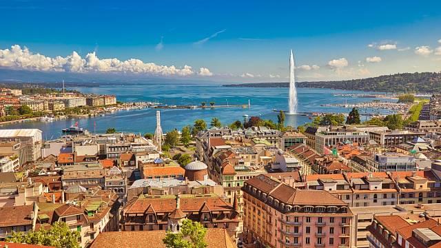 Jet Deau v Ženevě