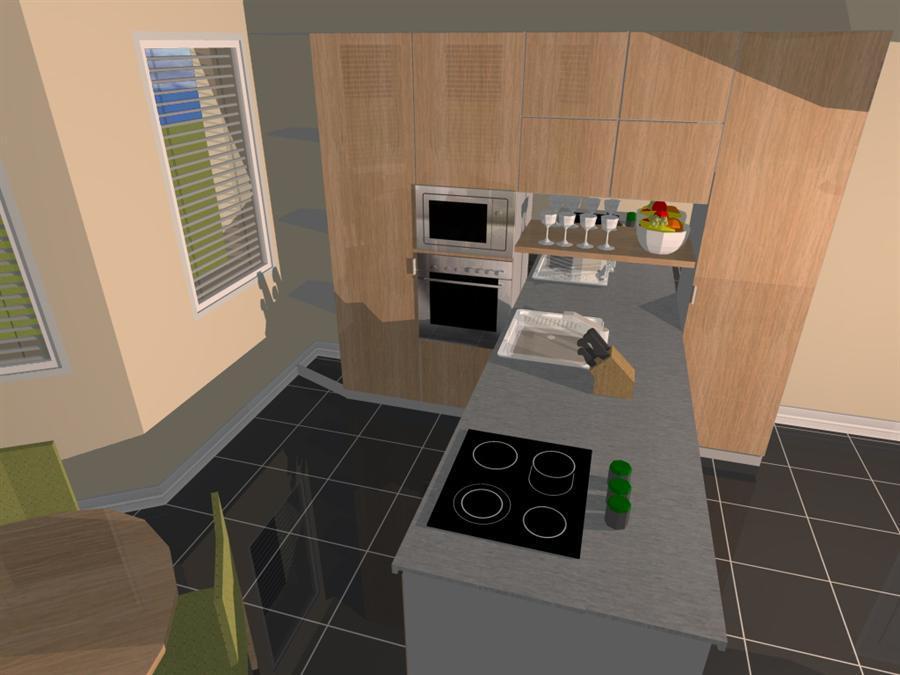 Návrh Na Přání 3 Varianty Uspořádání Malé Kuchyně A Jídelny