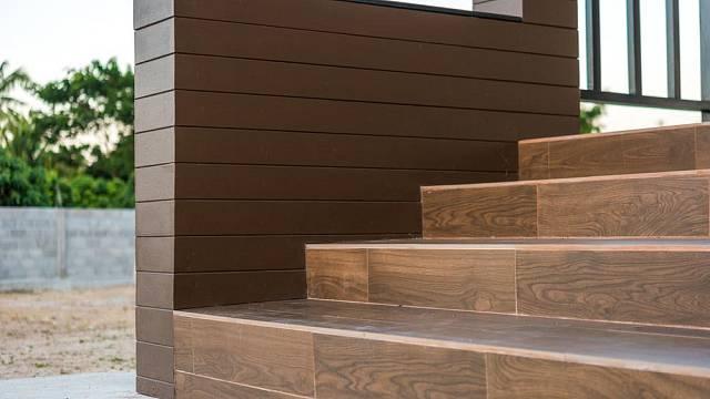 Obklad betonových schodů