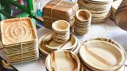 Ekologické nádobí z palmových listů