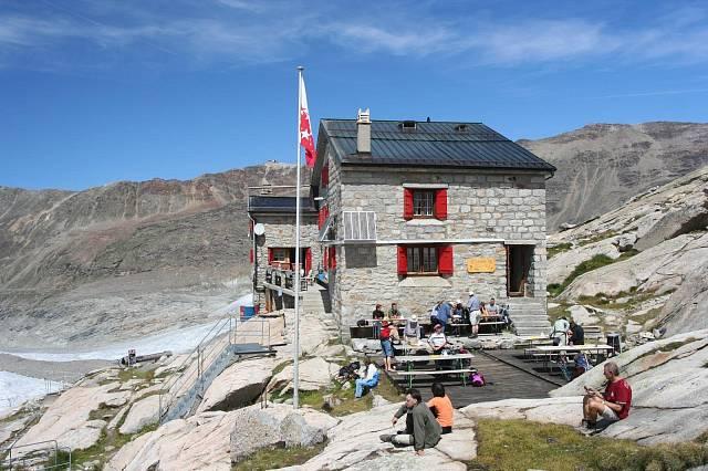 Původní chata Monte Rosa