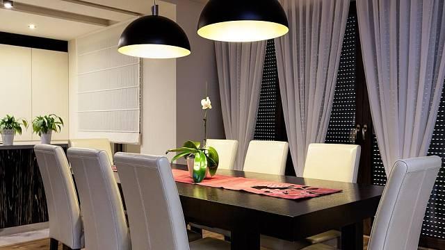 Osvětlení jídelního stolu