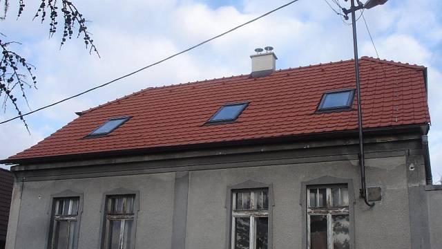 Nová střecha je hotová