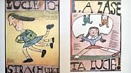 Tvorba Jiřího Šalamouna zahrnuje také knižní ilustrace.