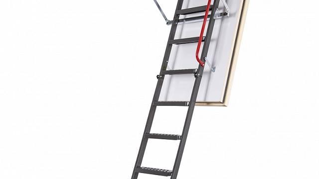FAKRO - Protipožární kovové schody LMF 60