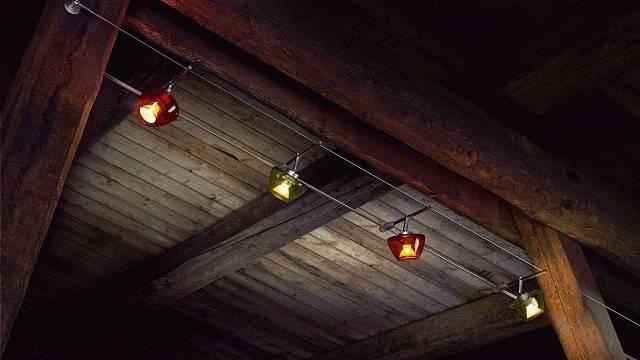Drátová světla (foto Paulmann)