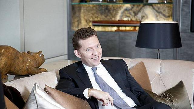 Luxusní bytový komplex Hyde Park postavili Kristián a Nick Candy, Londýn, Velká Británie - 5.dubna 2011.