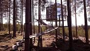 Švédský hotel Zrcadlová kostka