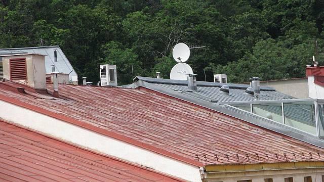 Obyčejné hliníkové střechy