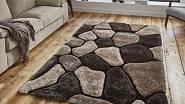 Béžovo-hnědý koberec Think Rugs Noble House, akryl & polyester / www.bonami.cz