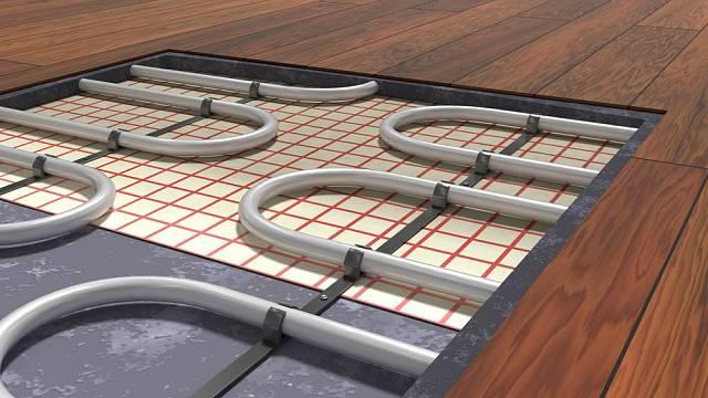 Podlahové vytápění omezuje výběr podlahové krytiny.