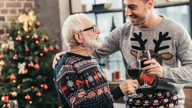 Muži Vánoce