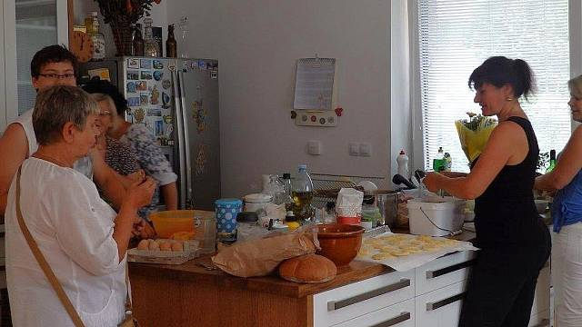 Zatěžkávací zkouška kuchyně