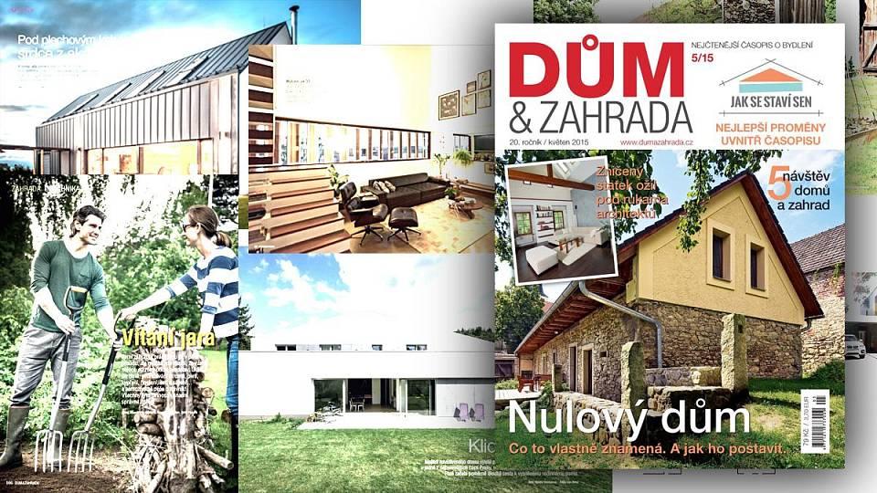 Březnové číslo 2012   Dům a zahrada - bydlení je hra