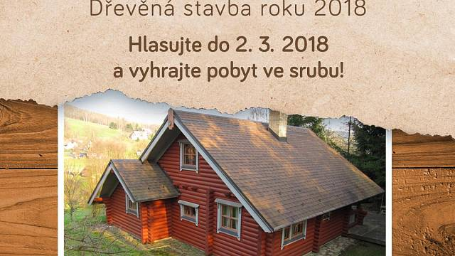 Dřevostavba roku 2018