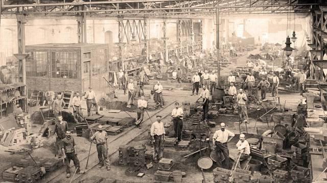 Slévárna v 19. století