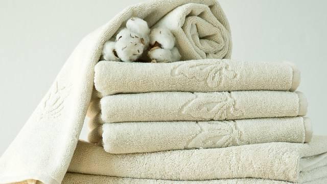 Eco bavlněné ručníky Grand motýlek řady Natural Cotton, 50 x 100 cm, cena 280 Kč/kus