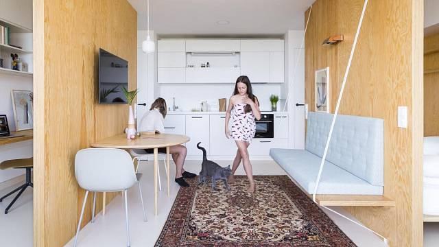 Miniaturní panelákový byt